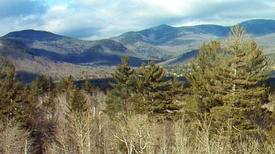 A view of the Hubbard Brook Experimental Forest