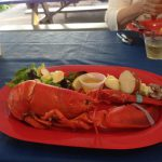 A Maine lobster dinner was the cherry on top of the film workshop sundae!